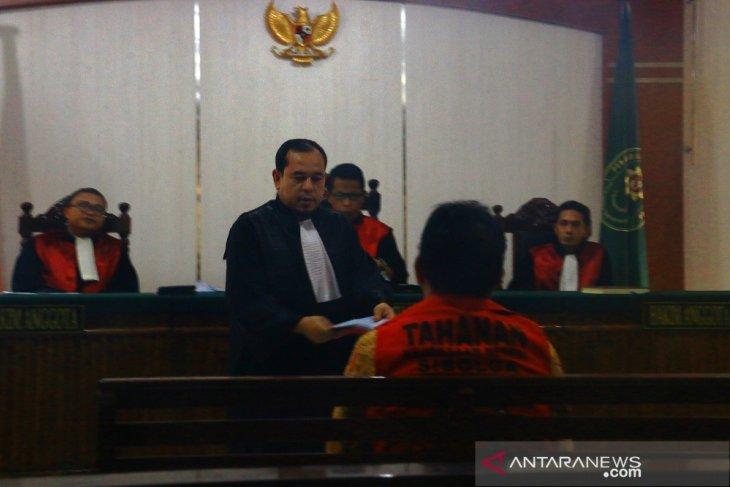 Mantan Bupati Bonaran Situmeang dituntut 8 tahun penjara, denda Rp1 miliar