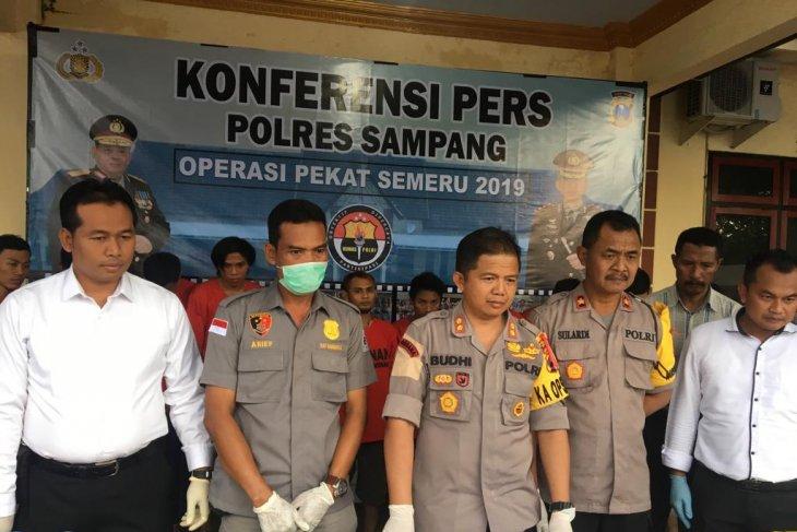 Polres Sampang tangkap 47 tersangka kriminal sejak Ramadhan