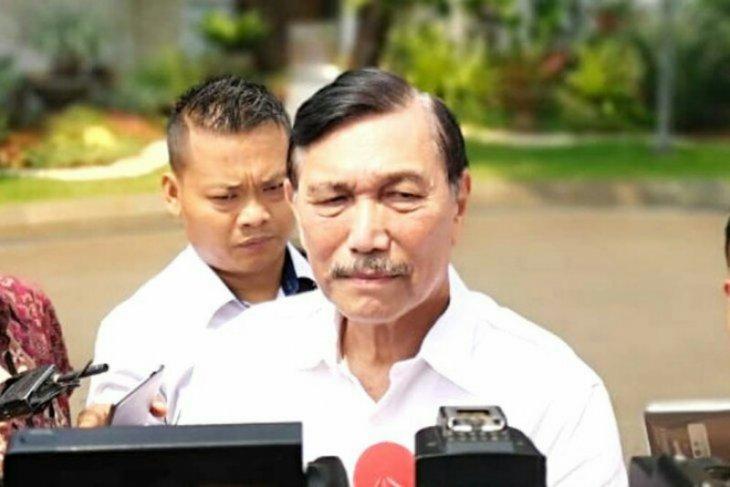 Luhut: Jokowi masih upayakan pertemuan dengan Prabowo