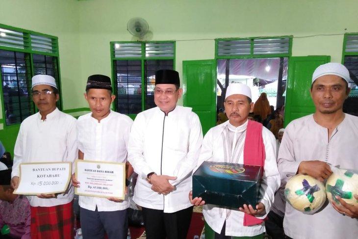 Bupati Kotabaru safari Ramadhan dan sosialisasi aturan angkutan sawit