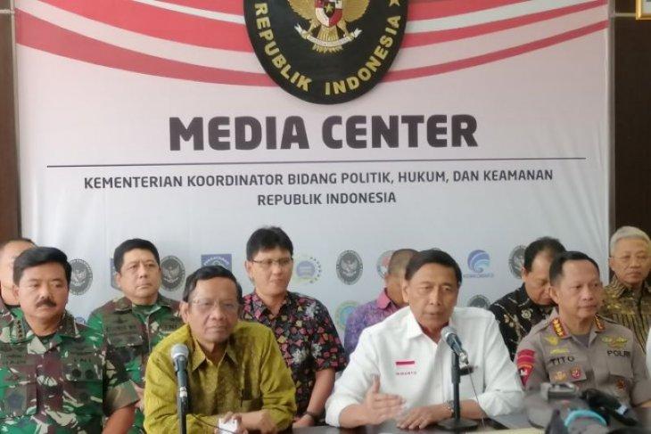 Kapolri: Wiranto, Luhut, BG dan Gories Mere target pembunuhan