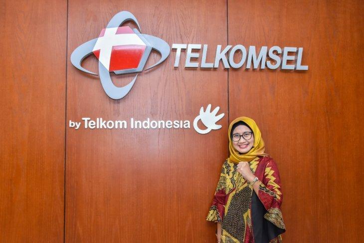 Emma Sri Martini Dirut baru  Telkomsel