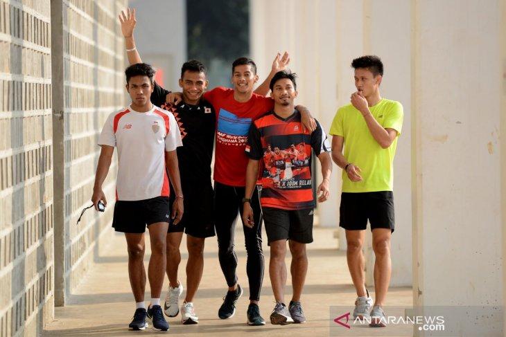 Tim estafet putra kejar tiket Olimpiade 2020