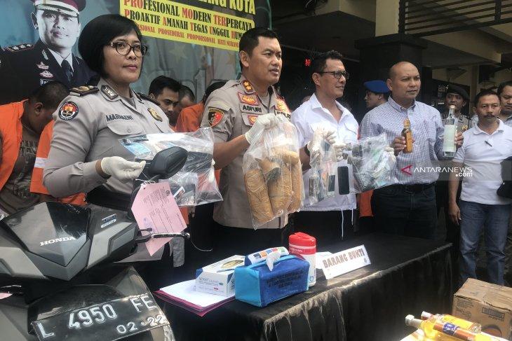 Operasi Pekat Semeru 2019 Kota Malang ungkap puluhan kasus premanisme
