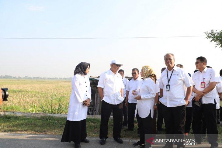 Menpar mengunjungi lokasi pembangunan wisata religi Syech Nawawi Albanatani
