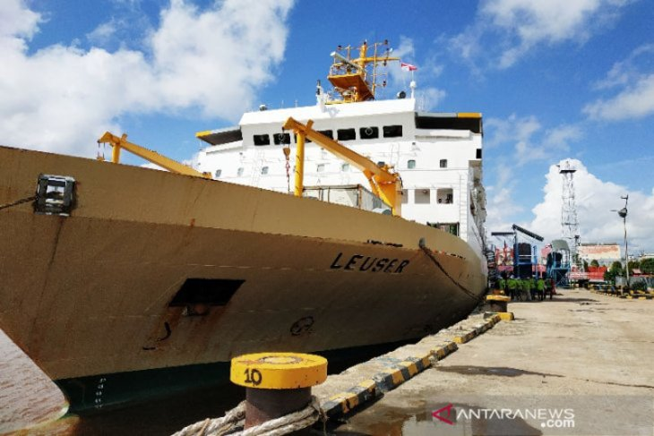 744 penumpang mudik gratis BUMN berangkat dari Pelabuhan Sampit