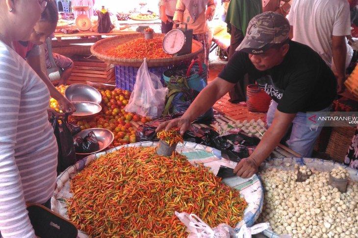 Harga cabai dan bawang di pasar tradisional Ambon melonjak
