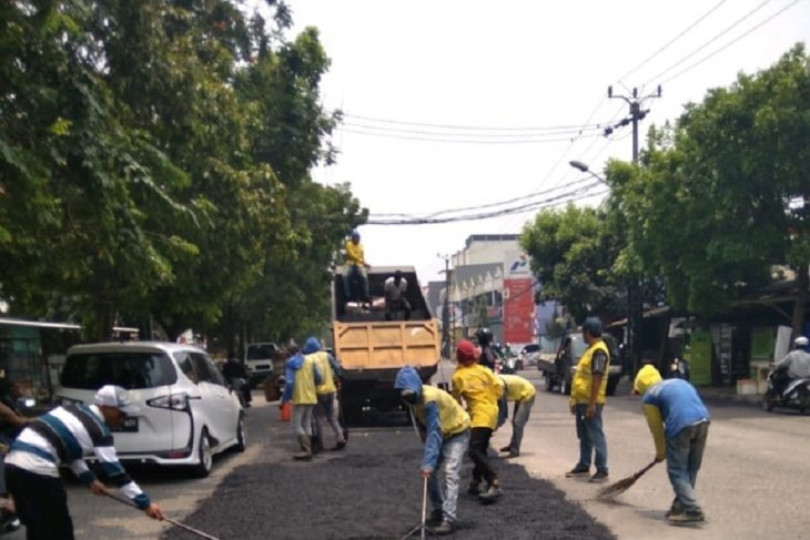 Dinas PUPR Tangerang bentuk tim pengawasan jalan rusak di jalur mudik