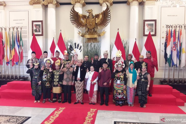 Jokowi leads ceremony to observe Pancasila Day