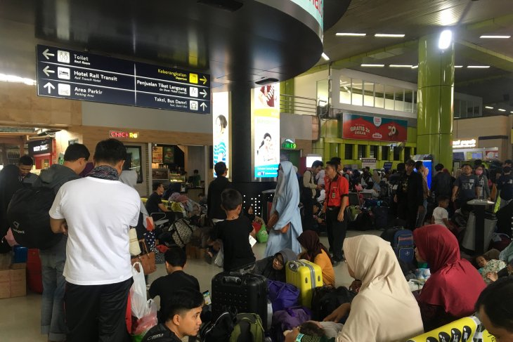 Gambir Station expects over 22,000 passengers today