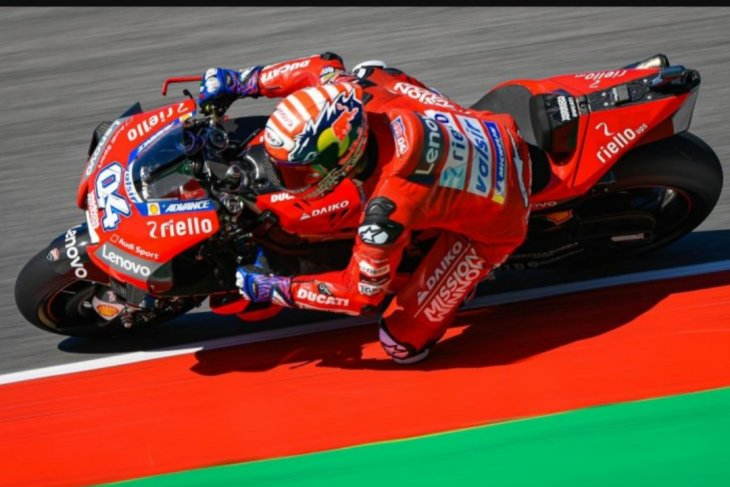 Andrea Dovizioso pecahkan rekor kecepatan di Sirkuit Mugello