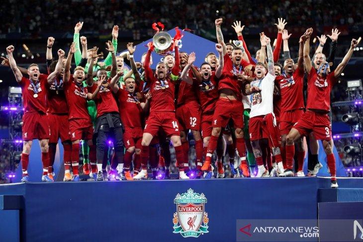 Daftar juara Liga Champions, Liverpool trofi ke enam