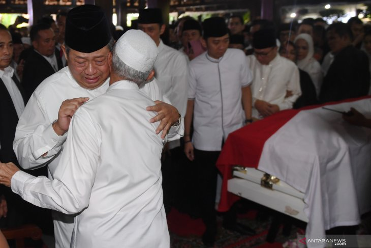 SBY had time to express his gratitude to reporters