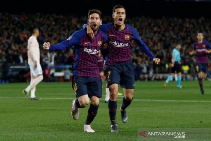 Messi pemain tersubur Liga Champions musim ini dengan 12 gol