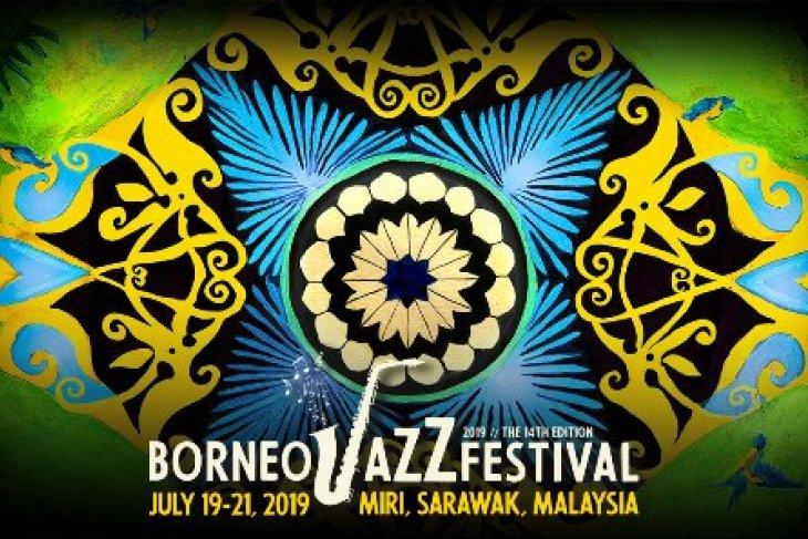 Deretan instrumentalis yang bakal tampil di Borneo Jazz Festival 2019 Miri