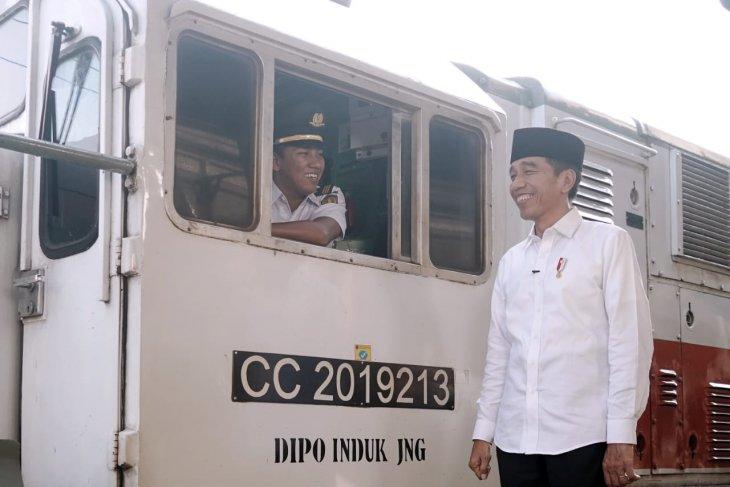 Presiden Joko Widodo sampaikan ucapan Selamat Idul Fitri 1440 Hijriah
