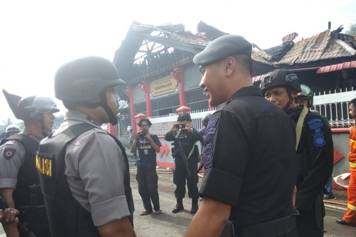 260 personel amankan kerusuhan  Rutan Sigli