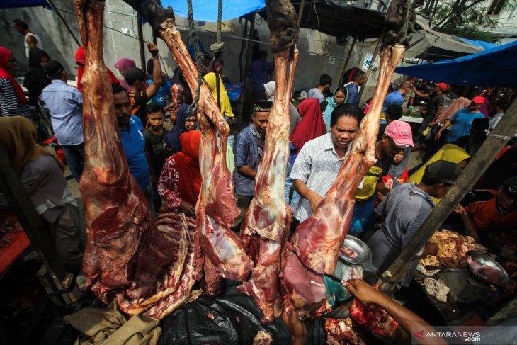 Harga daging meugang di Aceh Timur tembus Rp170.000/Kg