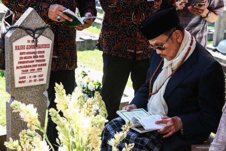 Saat wafat, BJ Habibie ditemani keluarga