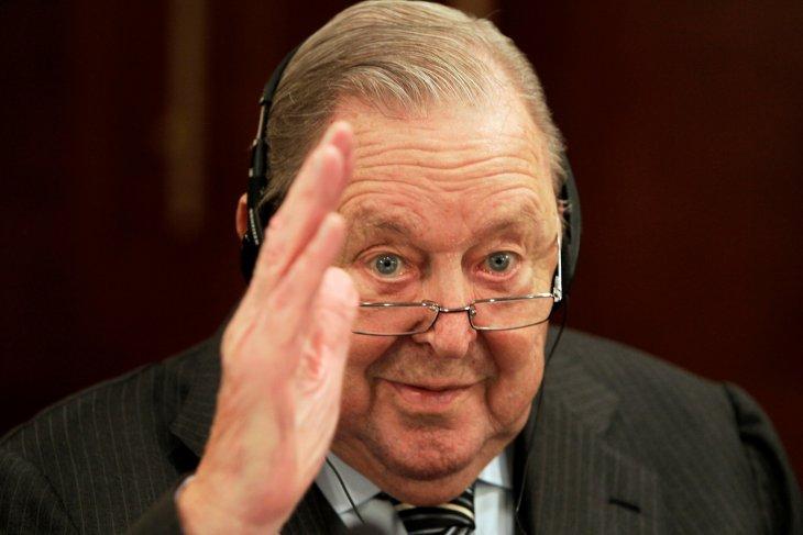 Johansson Presiden UEFA dan penggagas Liga Champions berpulang