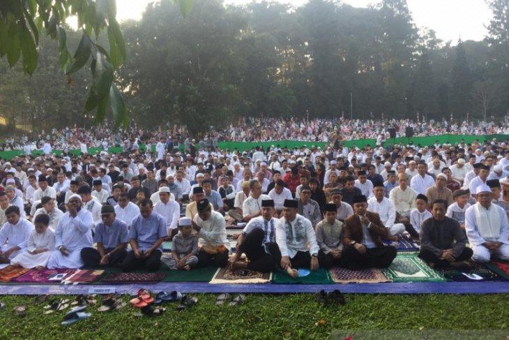 Kebun Raya Bogor kembali tidak gelar Shalat Idul Fitri 1442 H berjamaah