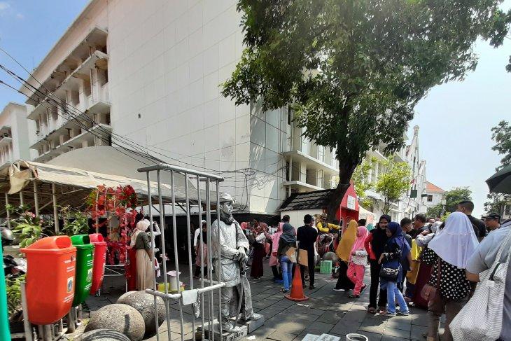 Puncak kepadatan pengunjung di kawasan Kota Tua diperkirakan 8-9 Juni