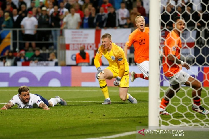 Belanda ke final setelah tundukkan Inggris 3-1 lewat babak tambahan waktu