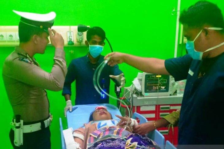 Satu warga meninggal dunia kecelakaan di jalan lintas barat  Aceh
