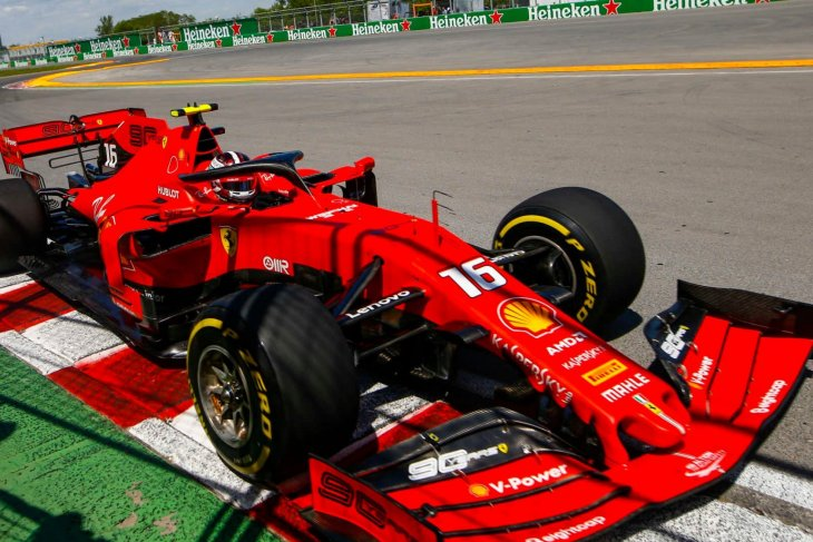 Ferrari unggul dari Mercedes di sesi latihan GP Kanada
