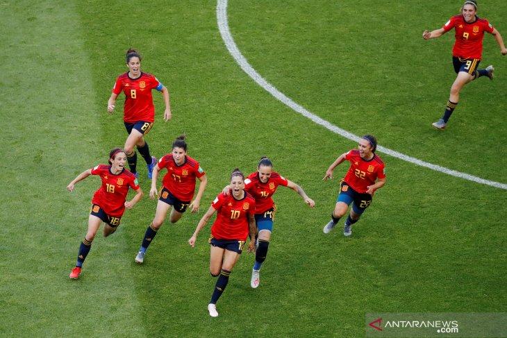 Tim Spanyol tekuk Afrika Selatan 3-1