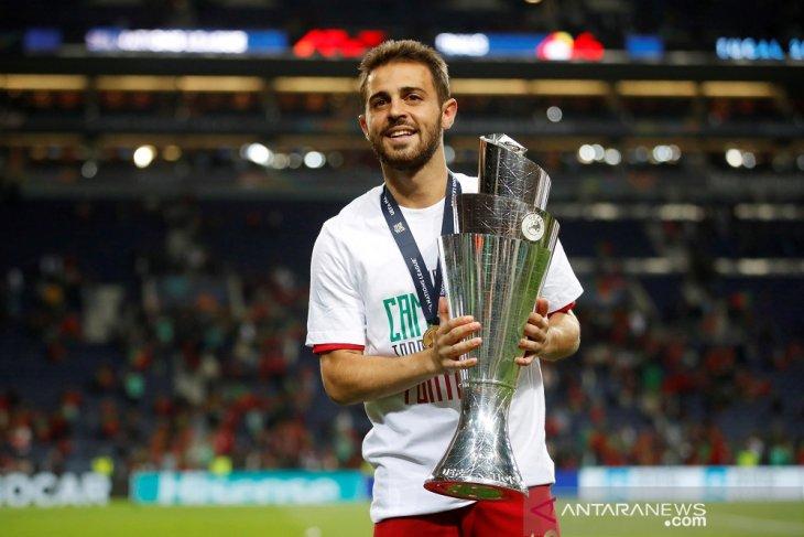 Bernardo Silva Terbaik De Jong Pemain Muda Terbaik
