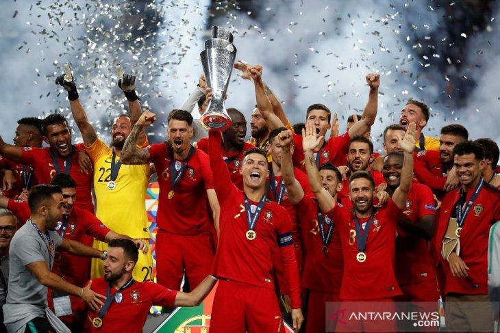 Trofi UEFA Nations League menjadi kado manis Hari Nasional Portugal