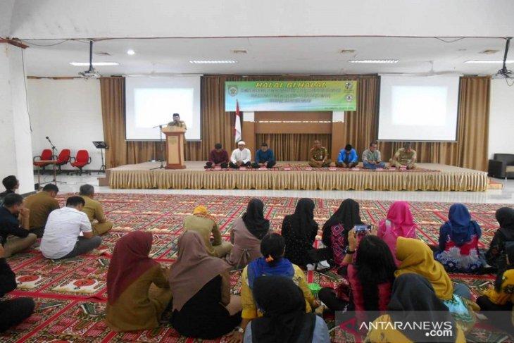 KNPI Balangan Gelar Halal Bi Halal bersama IKAMABA dan Pimpinan Daerah