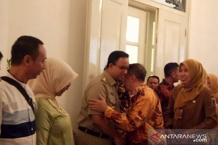 Baswedan holds halal bihalal gathering  with employees