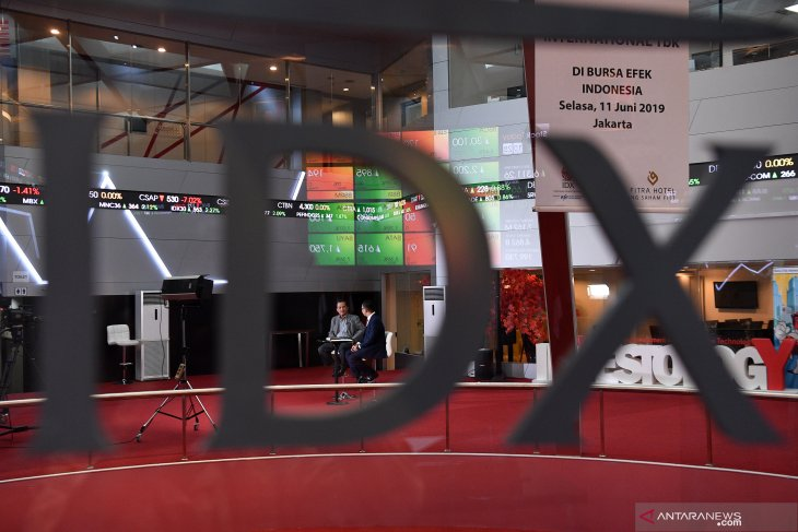 IHSG menguat seiring naiknya bursa  saham Asia