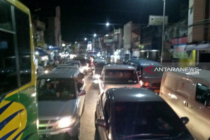 Ini tiga penyebab kemacetan di Sukabumi saat arus balik