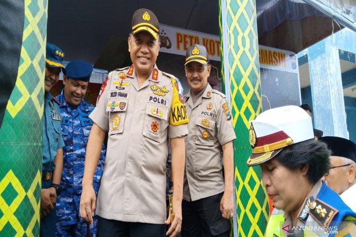 Terminal Induk Km 6 Banjarmasin kondusif selama arus mudik Lebaran 2019