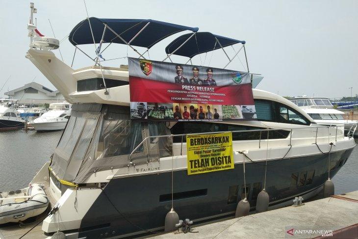 Sabu-sabu 37 kg disita dari kapal pesiar berbendera Malaysia
