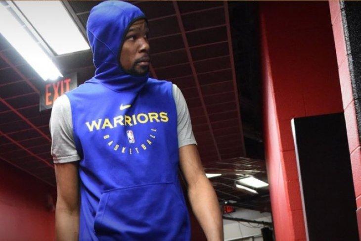 Durant kembali perkuat Warriors lawan Raptors di gim kelima