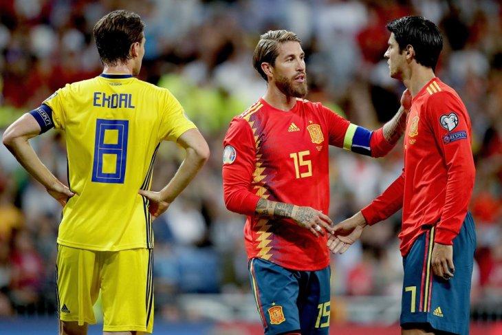 Ini harapan Ramos setelah tawarkan penalti kepada Morata