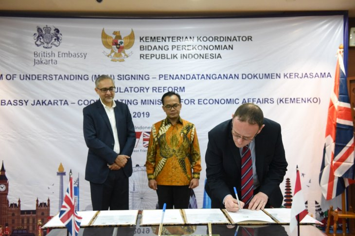 Indonesia, UK ink MoU to strengthen regulation reform