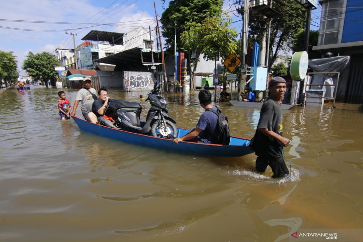 Samarinda flood affects 56,123 residents
