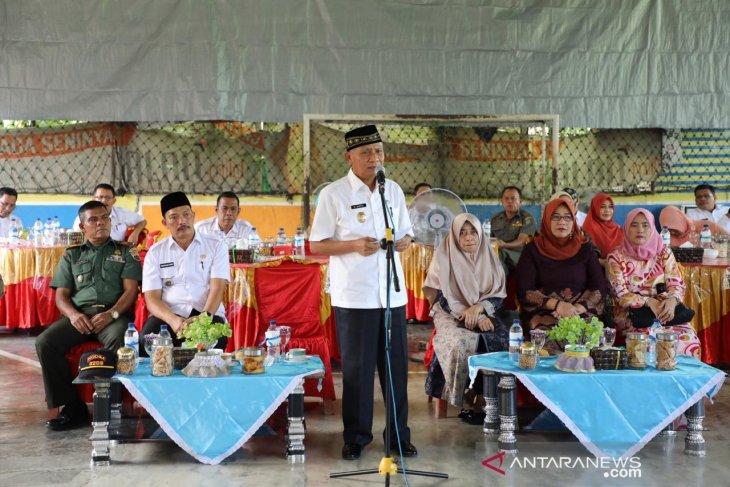 Plt Bupati Asahan halalbihalal di 25 kecamatan
