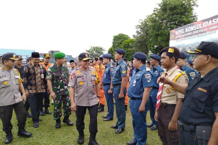 Kapolda Jambi pimpin apel konsolidasi Operasi Ketupat