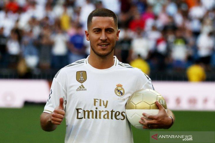 Debut La Liga Eden Hazard tertunda akibat cedera