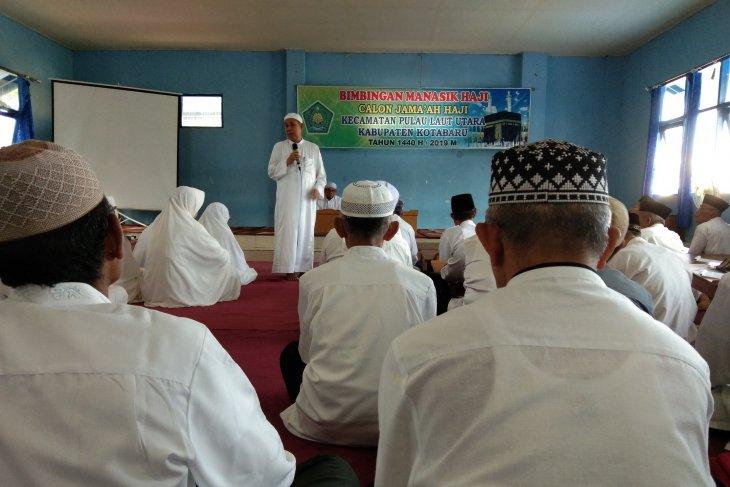 Manasik haji di Kotabaru dibagi perkecematan