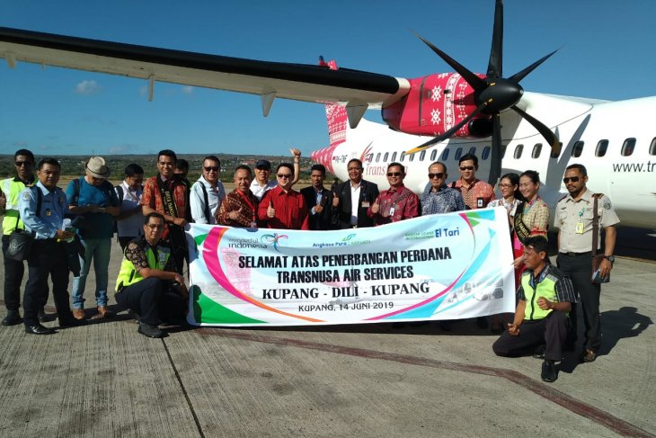 TransNusa commences int'l  flight operations on Kupang-Dili route