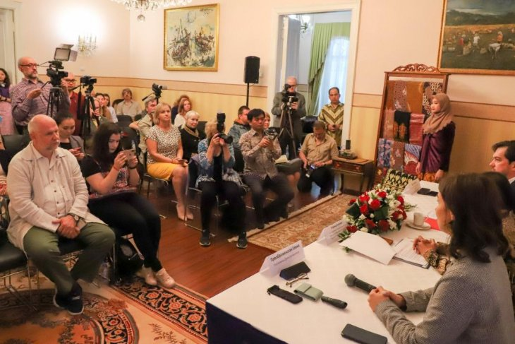 Indonesian Embassy in Moscow holds press conference for Festival