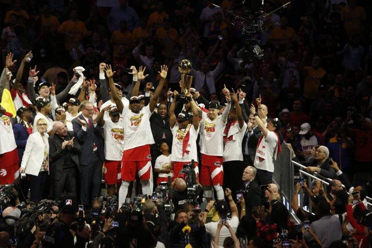 Menang di gim ke 6, Raptors juara NBA