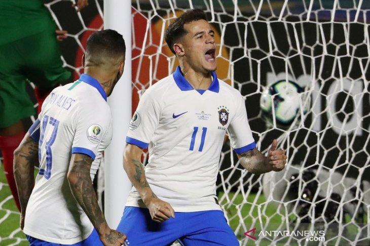Brazil berjaya pada laga pembuka, tundukkan Bolivia 3-0